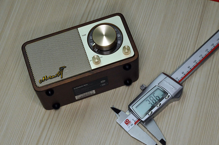 颜值与实力共存 - 山进MOZART迷你蓝牙收音音箱评测有感